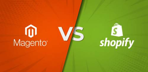 Magento vs Shopify interneta veikals